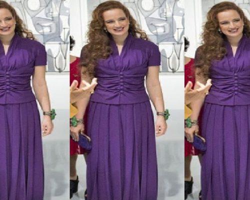 بالفيديو..الأميرة للا سلمى باللون البنفسجي في معرض بيكاسو