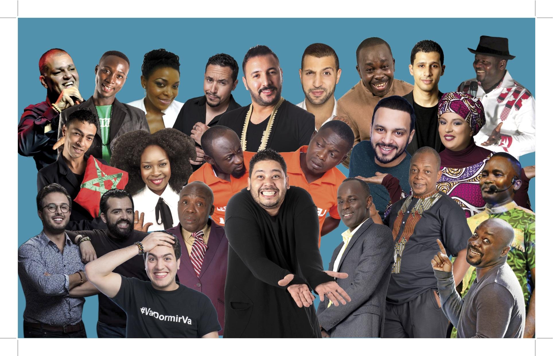 """إطلاق النسخة الأولى لـ""""إفريقيا للضحك"""" بحضور 27 فكاهيا"""