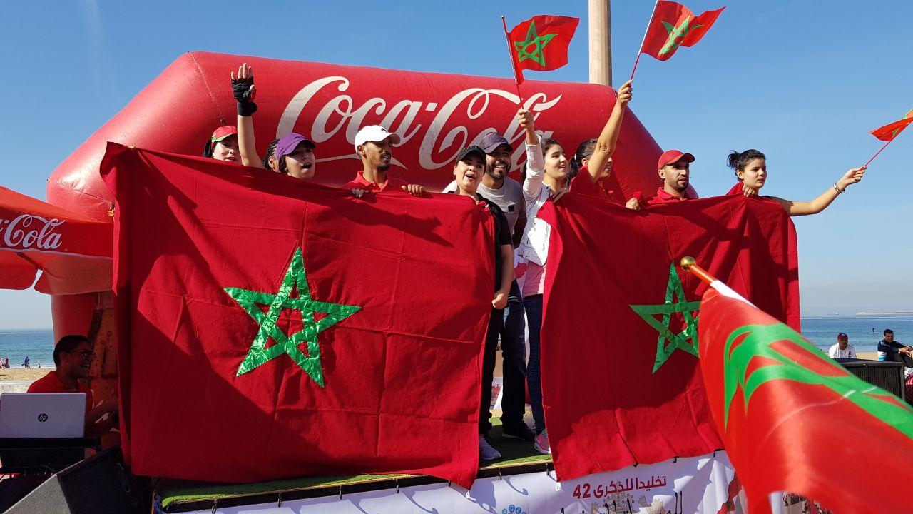 جمعية بأكادير تحتفي بذكرى المسيرة الخضراء وفوز المنتهب الوطني