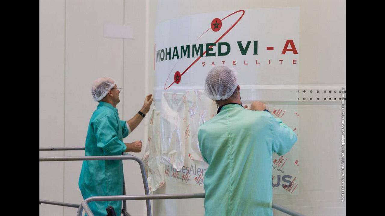 بالفيديو.. أخيرا المغرب يدخل عالم الفضاء