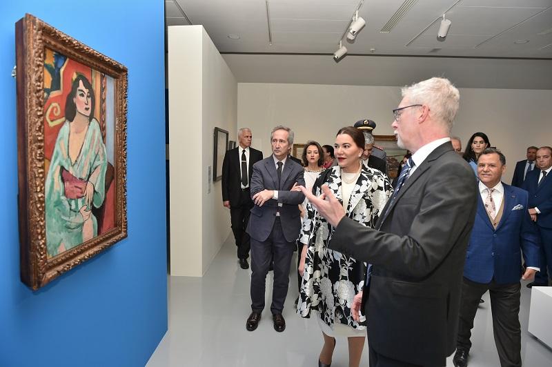 """الأميرة لالة حسناء تترأس بالرباط افتتاح معرض """"المتوسط والفن الحديث"""""""