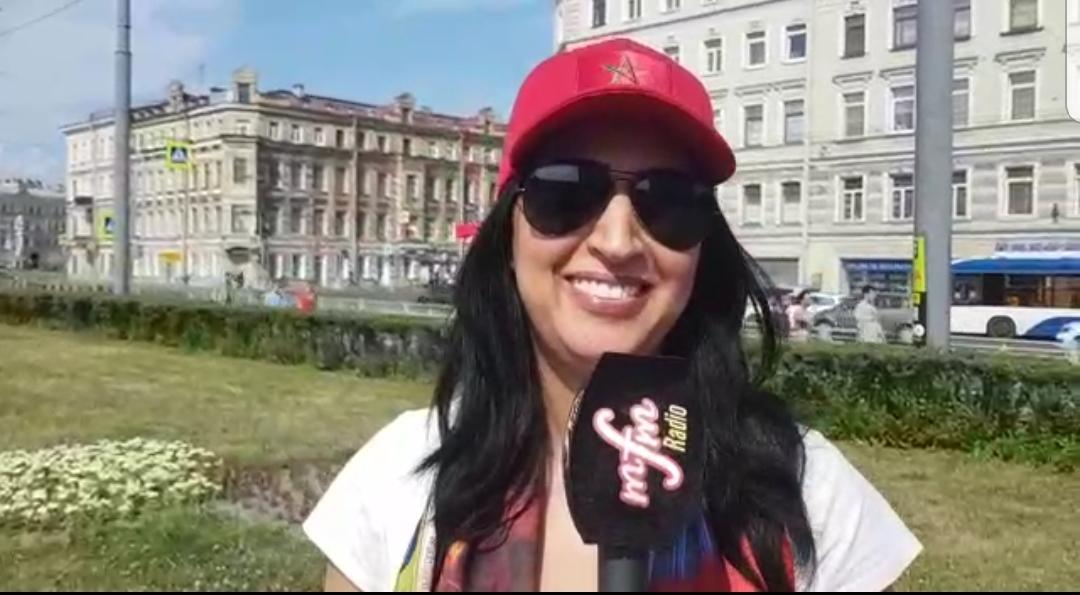 دنيا بوطازوت توضح حقيقة سفرها الى روسيا على نفقة جامعة لقجع