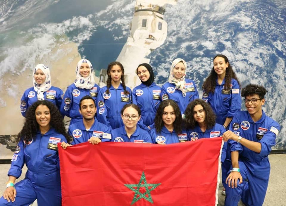 """12 تلميذا مغربيا في """"مخيم الفضاء"""" بولاية ألاباما الامريكية"""