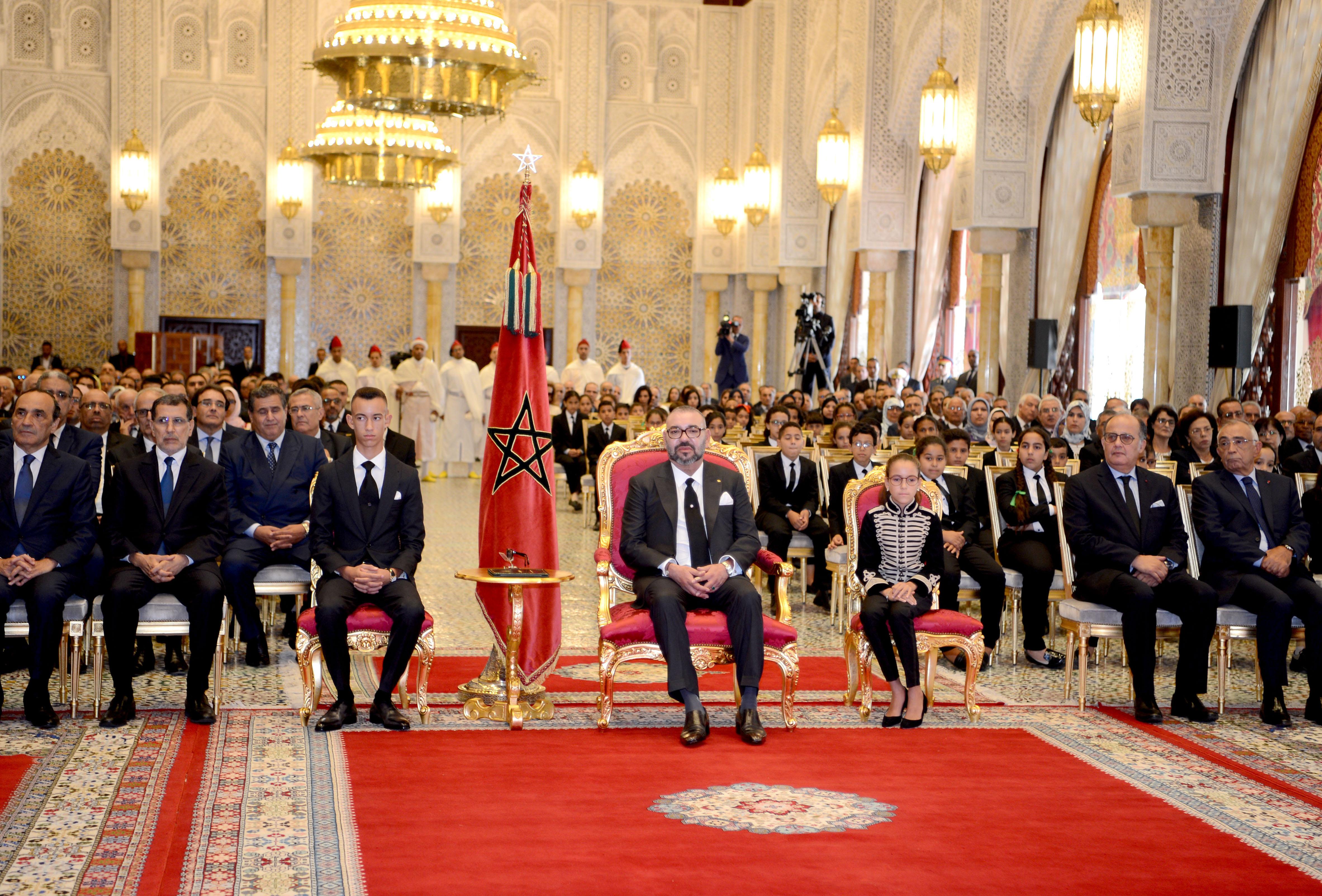 جلالة الملك يترأس حفل تقديم حصيلة دعم التمدرس وتنزيل إصلاح التربية والتكوين (صور)